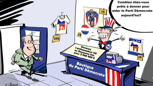Le parti d'Obama a offert des postes au gouvernement contre une donation - Sputnik France
