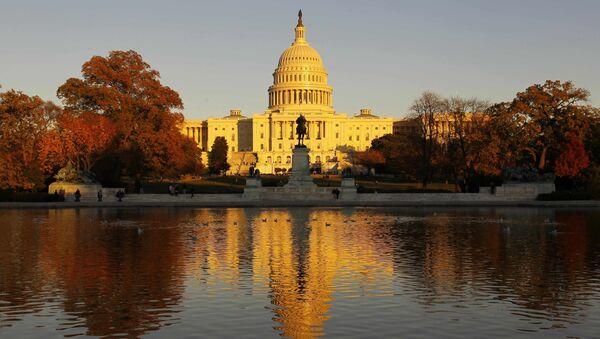 Здание Капитолия в Вашингтоне, США - Sputnik France