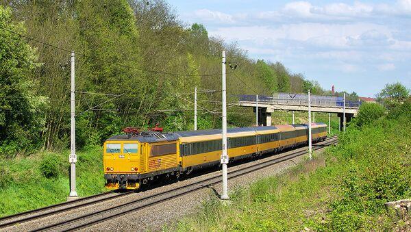 Un train RegioJet - Sputnik France