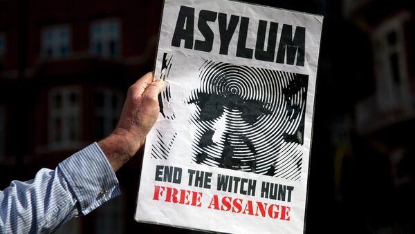 Assange - Sputnik France