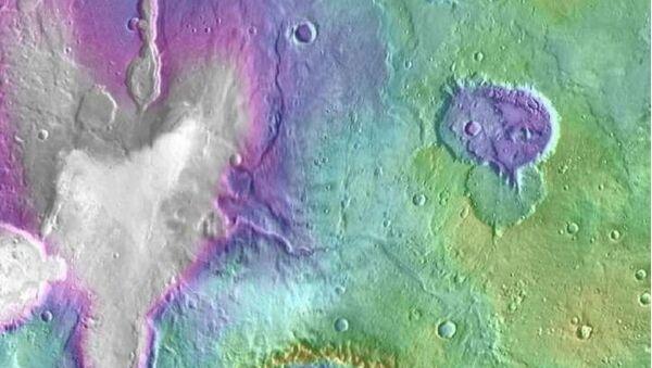 Les lacs de Mars - Sputnik France