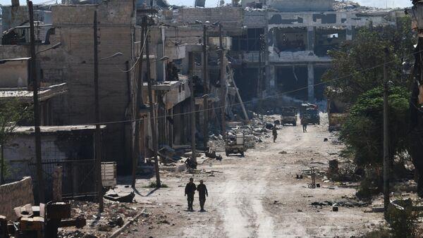 Les quartiers nord-est d'Alep nettoyés par l'armée syrienne - Sputnik France