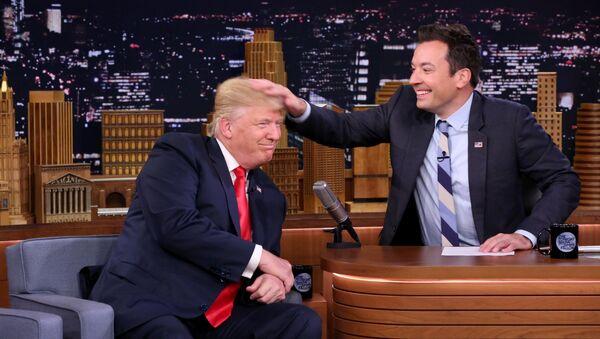 Donald Trump et Jimmy Fallon - Sputnik France