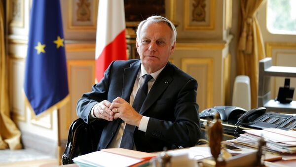 Le ministre français des Affaires étrangères Jean-Marc Ayrault - Sputnik France