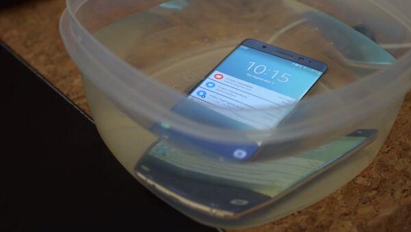 Samsung Galaxy Note 7 - Sputnik France