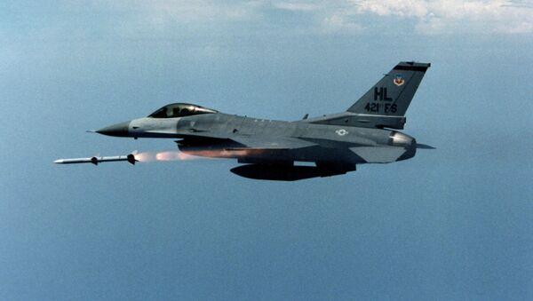 US air force F-16 jet fighter - Sputnik France