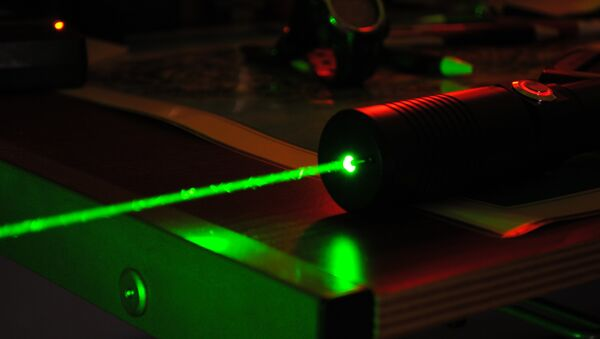 Un laser de haute puissance - Sputnik France