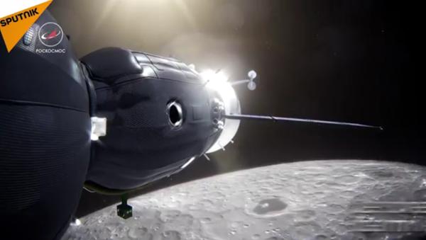 Un vol autour de la Lune - Sputnik France