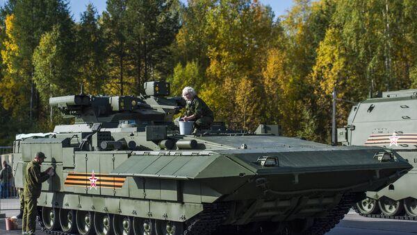 Le transporteur blindé lourd T-15 - Sputnik France