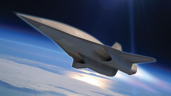 Image conceptuelle d'un avion hypersonique  - Sputnik France