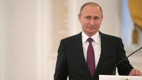Der russische Präsident Wladimir Putin - Sputnik France
