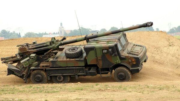 Le système d'artillerie automoteur Caesar - Sputnik France