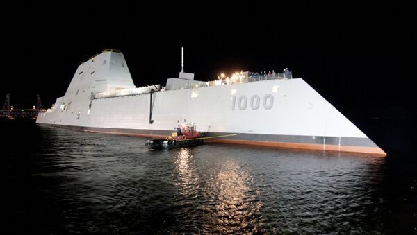 USS Zumwalt - Sputnik France