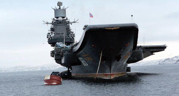 La Russie déploiera son groupe de porte-avions en Méditerranée - Sputnik France