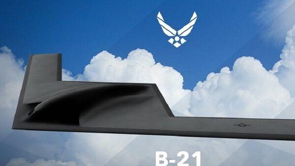 Le Northrop Grumman B-21 Raider, bombardier stratégique américain - Sputnik France