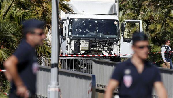 La police française à Nice - Sputnik France