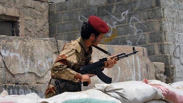 Un soldat yéménite - Sputnik France