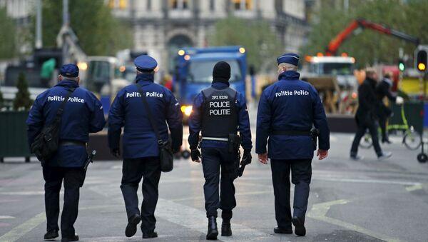 Des policiers belges - Sputnik France