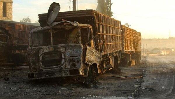Un camion du convoi humanitaire de l'Onu attaqué en Syrie - Sputnik France