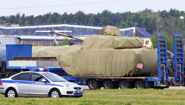 Un char russe - Sputnik France