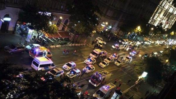 Le lieu de l'explosion à Budapest - Sputnik France