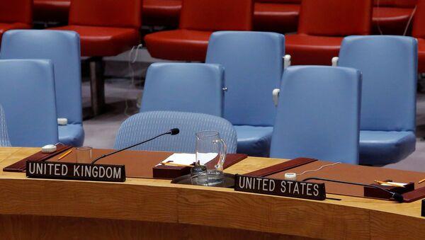 Démarche à l'Onu: les pays initiateurs de la réunion quittent la salle - Sputnik France