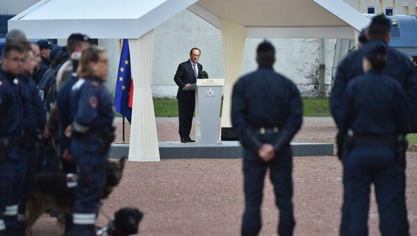 François Hollande à Calais - Sputnik France