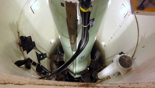 Le missile ballistique nucléaire intercontinental Minuteman 3 - Sputnik France