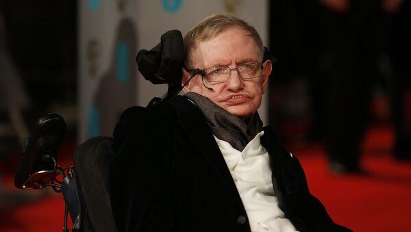 Le physicien britannique Stephen Hawking - Sputnik France