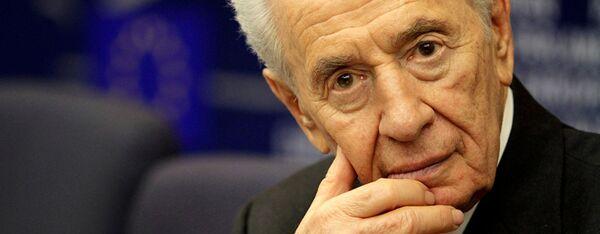 Israels Ex-Präsident Shimon Peres - Sputnik France