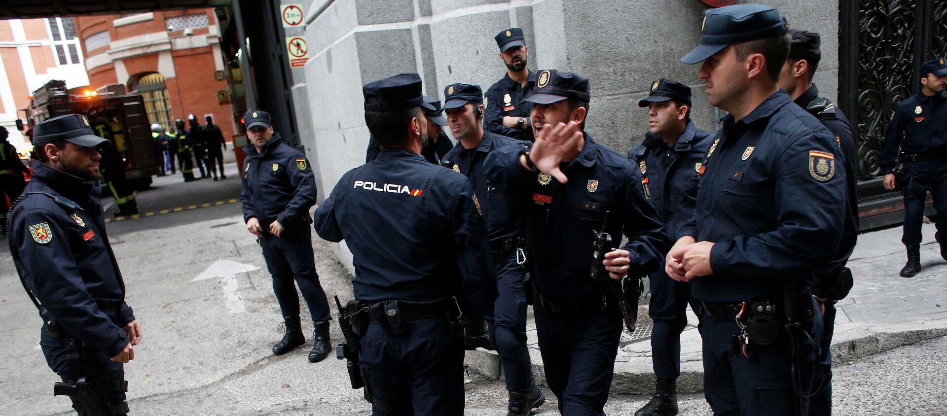 Police espagnole - Sputnik France, 1920, 19.06.2020