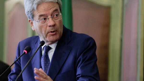 Il ministro degli Esteri italiano Paolo Gentiloni - Sputnik France