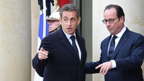 Nicolas Sarkozy-François Hollande - Sputnik France