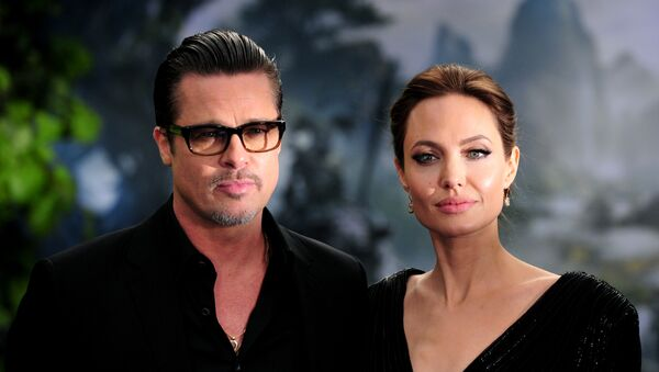 Brad Pitt et Angelina Jolie - Sputnik France
