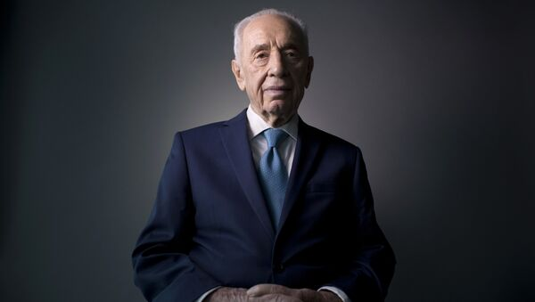 Shimon Peres - Sputnik France