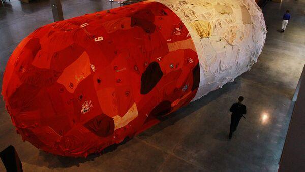 Un gélule géante exposée à Moscou - Sputnik France