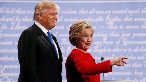 Clinton et Trump - Sputnik France
