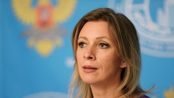 Le porte-parole du ministère russe des Affaires étrangères Maria Zakharova - Sputnik France