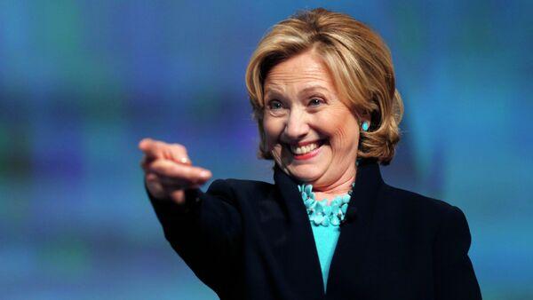 La candidate à la présidence américaine Hillary Clinton - Sputnik France