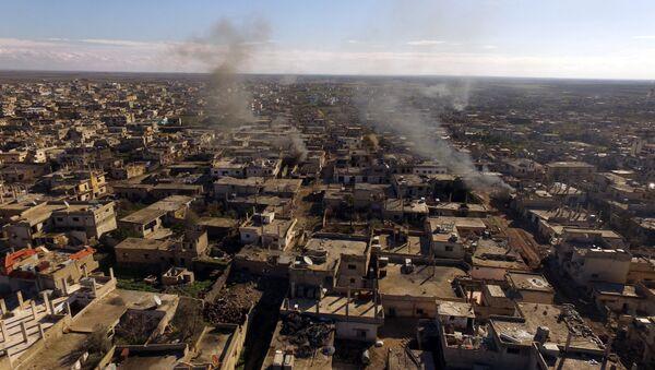 La ville syrienne d'Al-Sheikh Maskin libérée de Daech - Sputnik France