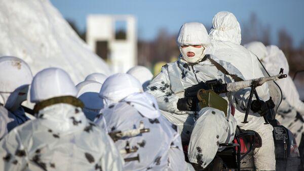 Les forces armées arctiques russes - Sputnik France