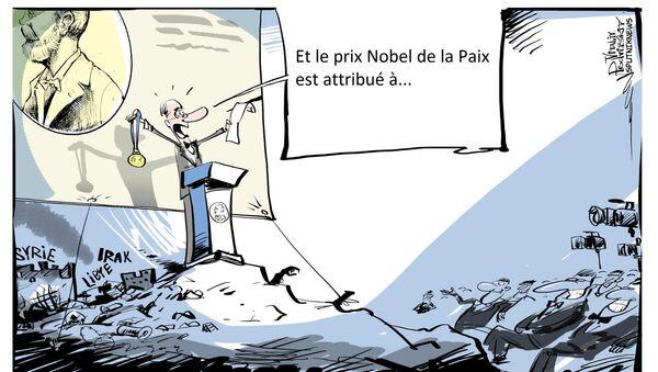 Fabius de la Paix : l'ancien chef de la diplomatie vise le Prix Nobel - Sputnik France