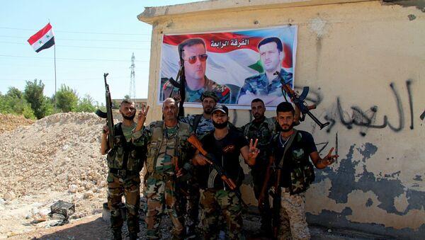 l'armée syrienne à Alep - Sputnik France