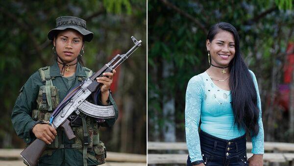 La beauté désarmée désarmante: le pacte de paix colombien en 10 portraits féminins - Sputnik France