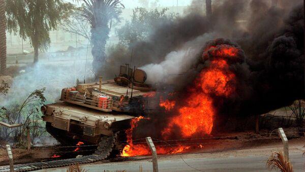 Quand un char M1A1 Abrams américain en Irak est détruit par un missile chinois - Sputnik France