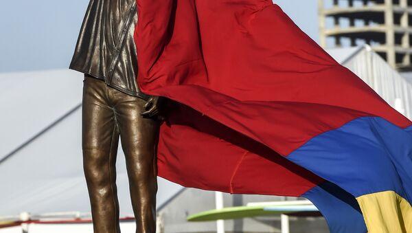 Une statue d'Hugo Chávez - Sputnik France