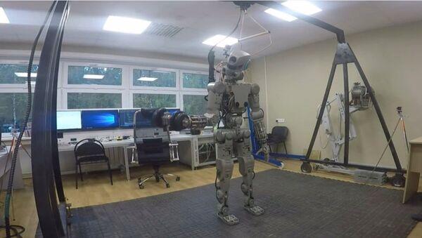 Le robot Fedor - Sputnik France
