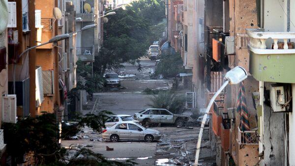 Libye en ruines suite aux heurts entre des militaires libyens et des milices islamistes - Sputnik France