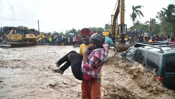 Les conséquences du passages de l'ouragan Matthew à Haïti - Sputnik France