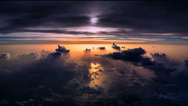 Orages et aurores boréales: les photos captivantes d'un pilote professionnel - Sputnik France